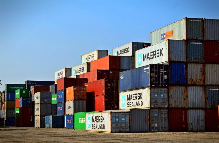 cargo for transportation and logistics business